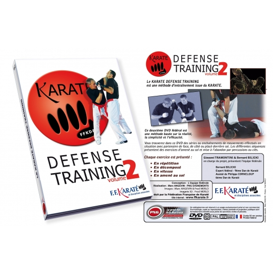 DVD Karaté Défense Training Vol.2