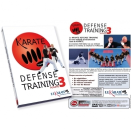 DVD Karaté Défense Training Vol.3