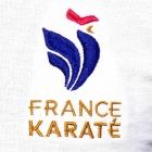 """Polo """"France Karaté"""" Femme"""