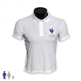 "Polo ""France Karaté"" Homme"