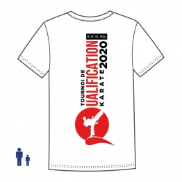 "T-shirt ""Tournoi Qualificatif Olympique"""