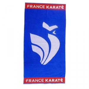 Drap de bain France Karaté