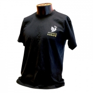 "T-shirt ""France Karaté"" marine/or Homme"